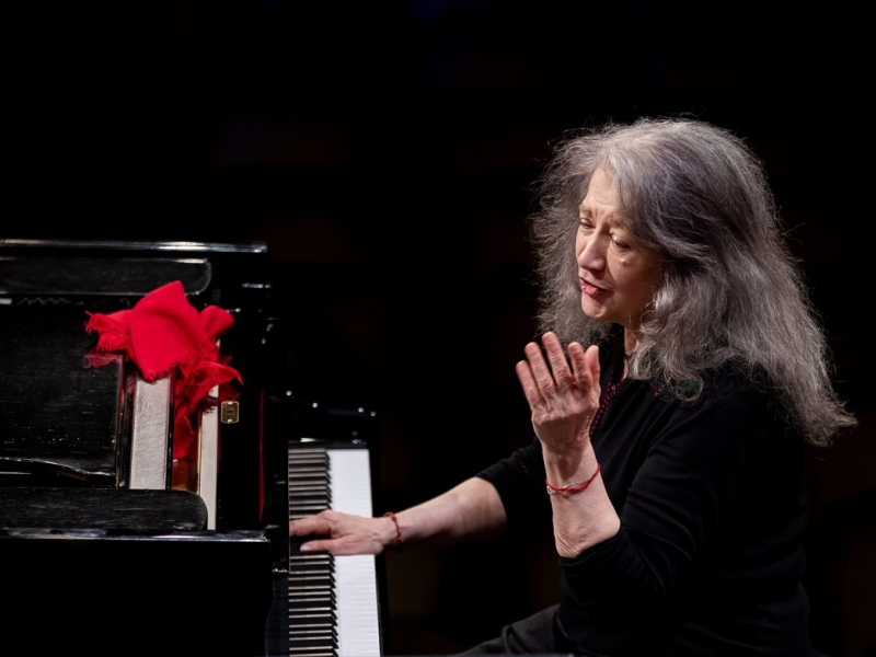 Summer concerts with Martha Argerich